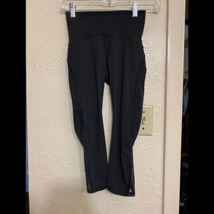Lululemon crop leggings size 2